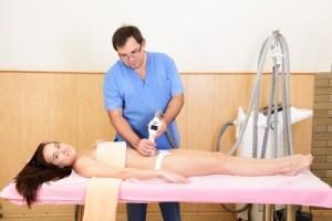 Schwangerschaftsstreifen Laserbehandlung